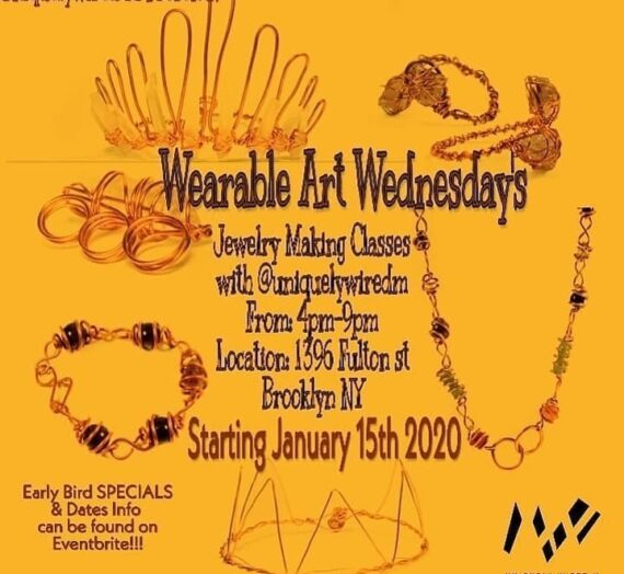 Wearable Art Wednesdays hosted by uniquelywiredm
